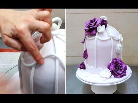 Cake Craft And Decoration Download Free : Vintage Cake Decorating by CakesStepbyStep - YouTube
