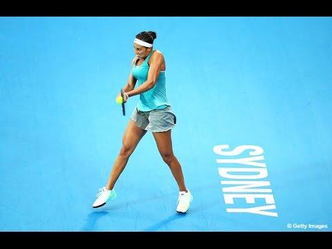2015 Apia International Sydney Day 1 WTA Highlights