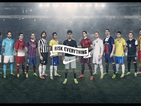 Nike Football-Ronaldo, Neymar Jr, Rooney, Ibrahimović, Iniesta, Pirlo