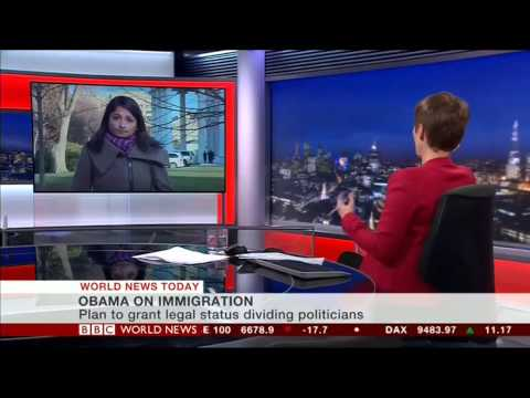Obama's immigration reform - Rajini Vaidyanathan reports from White House