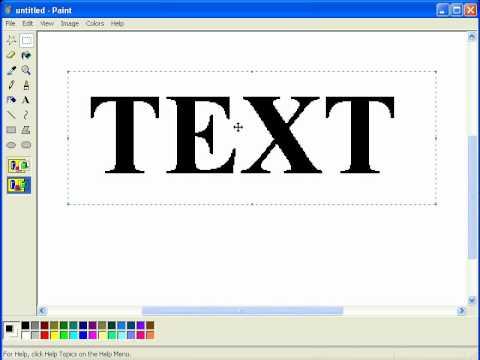 Paint Net Make Text Outline