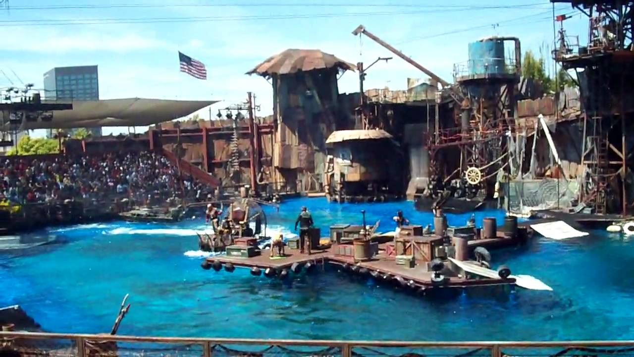 You should probably read this: Universal Studios Waterworld Cast
