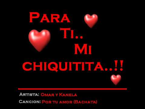 Bachata romantica Por tu amor.