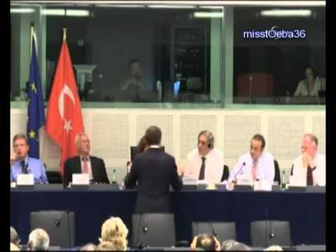 AB Bakanı Egemen Bağış'tan Hollandalı ırkçı vekil Barry Madlener'e  ''oğlum bak git''