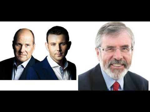 Gerry Adams on NewsTalk Breakfast (16/02/15)