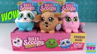 Silly Scoops Hidden Plush Series One Full Box Opening | PSToyReviews