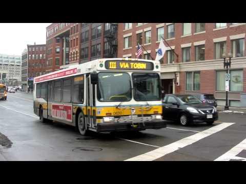MBTA Boston Buses
