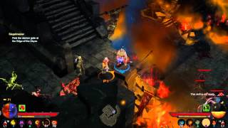 Diablo III Ultimate Evil Edition Walkthrough Part 49 - Siegebreaker To Demon Gate Co-Op PS4 HD