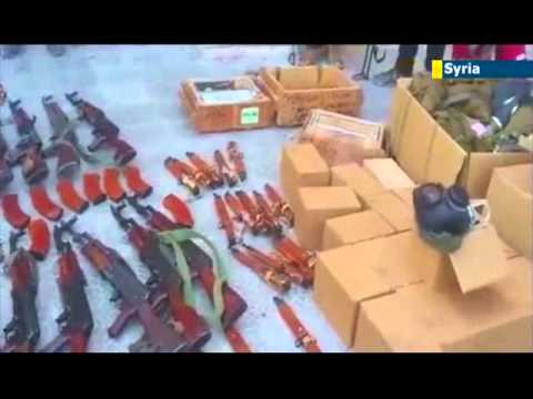Syrian Conflict: Anti-Assad rebel forces dependent on makeshift arms production facilities