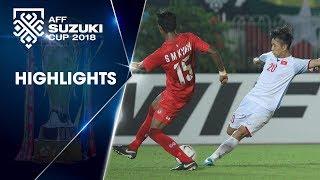 Không được công nhận bàn thắng, ĐTVN chia điểm đáng tiếc trên đất Myanmar | VFF Channel