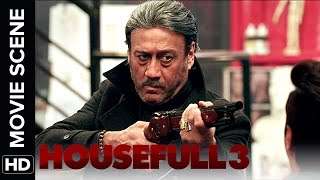 Jackie Shroff wants to give SMS   Housefull 3   Movie Scene