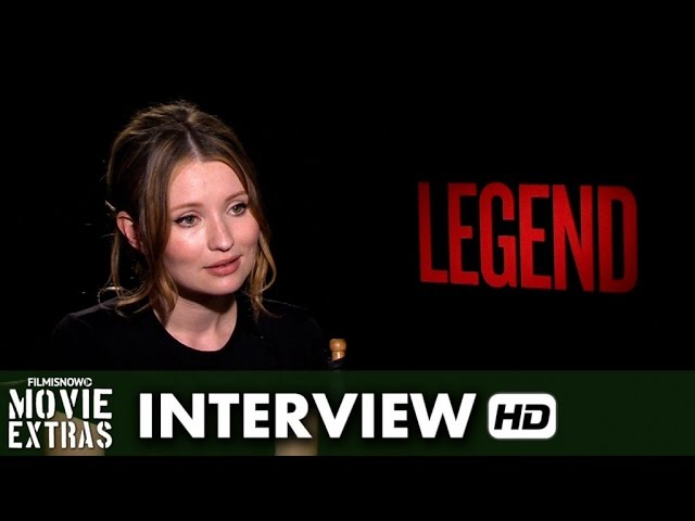 Legend (2015) Official Movie Interview - Emily Browning