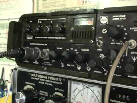 AMATEUR RADIO 7.092 MHZ (ONLY 10 WATS) QRP QSO .vob