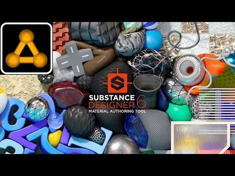 #SubstanceDesigner #1 -  Введение