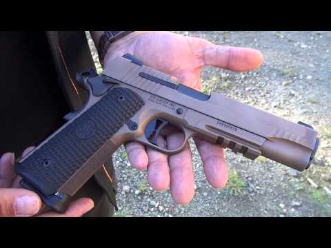 NEW Sig Sauer Emperor Scorpion 1911 (HD)