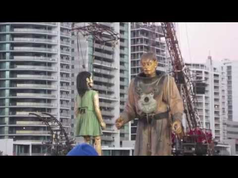 Royal de Luxe presents: The Giants in Perth, Western Australia