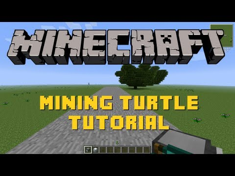 Minecraft   Mining Turtle Tutorial   Feed the Beast