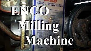Enco Mill Part 3 Backlash Tested & Young Machinist Crafted Channel
