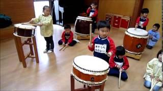 2014/11/7 年中はな和太鼓教室