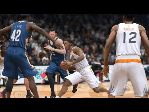 NBA 2015 - New Orleans Pelicans vs Phoenix Suns - Post Highlights - NBA LIVE 15 PS4 - HD