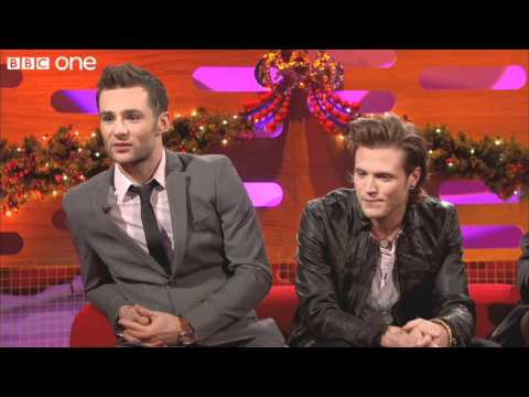 Dougie and Harry from McFly - The Graham Norton Show Christmas Special - BBC One