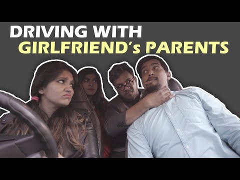 Driving with Girlfriend's Parents | Aashqeen