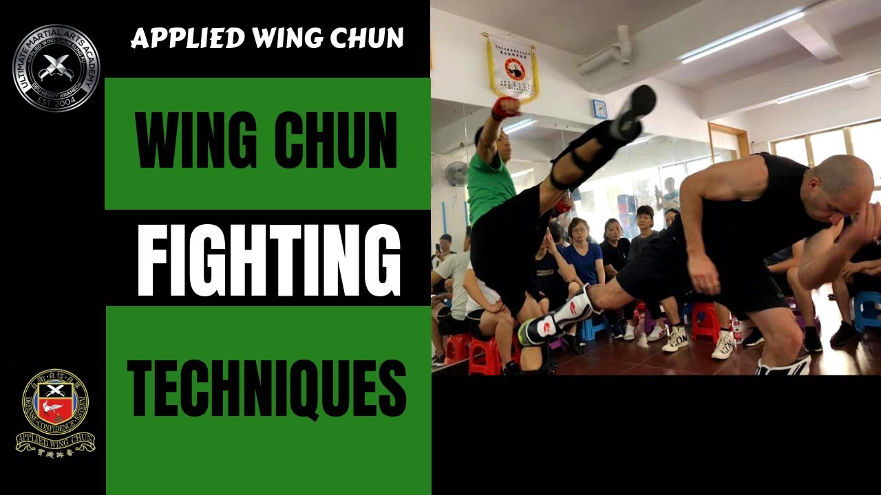 Wing chun fighting techniques youtube