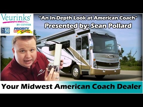 Model Your Local American Coach Luxury Motorhome Dealer  Save