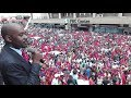Nelson Chamisa Addresses Mourners Outside Harvest House - MDC Will Continue Tsvangirai Legacy MP3