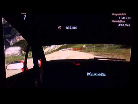 GT5 Flaren89 - Citroën C4 WRC '08 - Eiger Nordwand percorso K