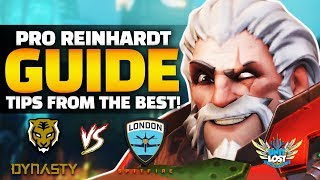 Overwatch - How to TANK! Reinhardt Guide ft Gesture and Fissure!