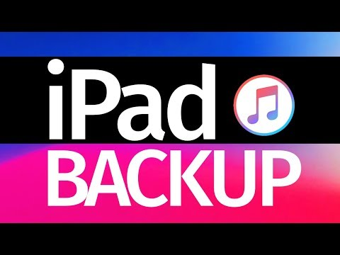 How to Backup iPad using iTunes in your computer (PC & Mac) iPad mini iPad Pro iPad Air