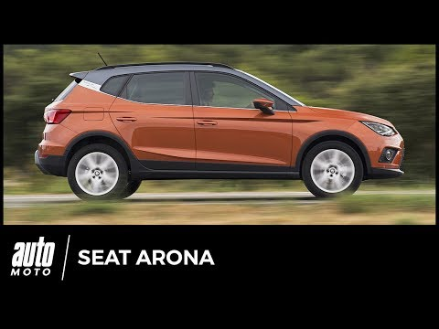 2018 Seat Arona [ESSAI] : pas que du style