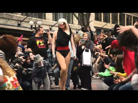 Second Annual Glee Flash Mob - Seattle [OFFICIAL] Music Videos