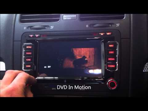 VW ANS-510 - VW Advanced replacement DVD GPS BT Navi unit around