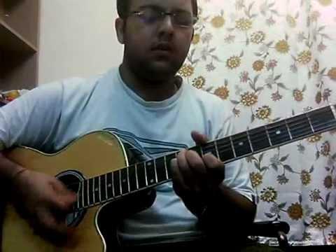 Aadat from Jal (original scale) guitar chords n solo