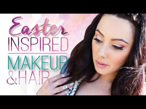 Easter Makeup, Hair and Outfit { Makeup Geek }