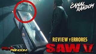 Errores de películas Saw 5 Review Crítica y Resumen WTF PQC