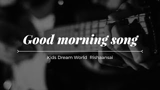 "Good morning song for preschool music class - ""Good Morning Everyone"""
