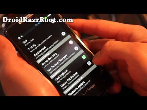 How to Restore Stock ROM. Remove Safestrap/Root on Rooted Droid Razr!