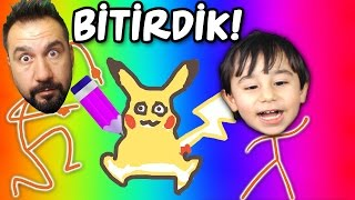 OYUNU BİTİRDİK! | Draw a Stickman: EPIC 2 FİNAL!