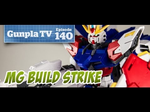Gunpla TV - 140 - MG Build Strike Gundam FP - Thunderbolt! - Hlj.com