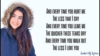 TOO GOOD AT GOODBYES - Sam Smith (Cover by Luciana Zogbi) (Lyrics)