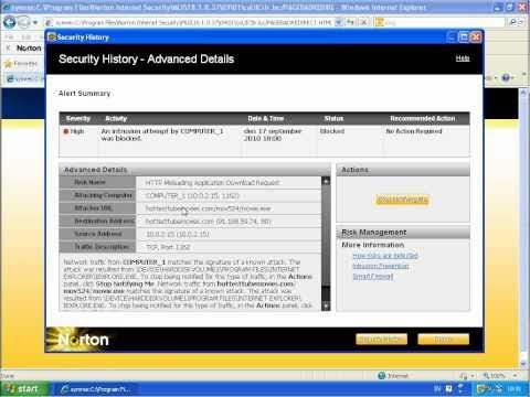 Norton Internet Security 2011 vs Comodo Internet Security (Part 1)