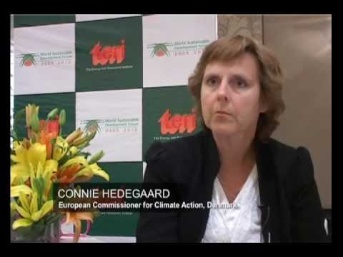 Interview with Connie Hedegaard, European Commissioner for Climate Action at DSDS 2012