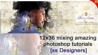 FREE PSD How to Design  wedding reception Canvera Albums in Photoshop Tutorial[ss Designers]239