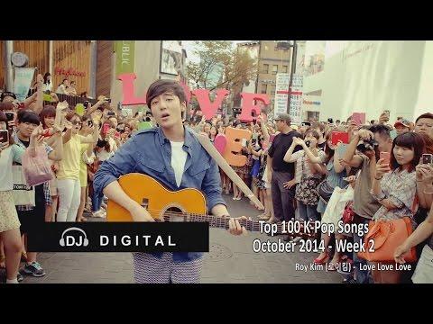Top 100 K-Pop Songs for October 2014 Week 2