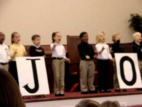 Calvary Classical School, First Grade Assembly