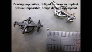 How to make a medieval windlass crossbow Part 2 Comment faire un moufle médiéval partie 2
