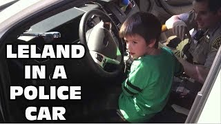 Kids React To When Leland Was In A POLICE CAR- Oh Shiitake Mushrooms